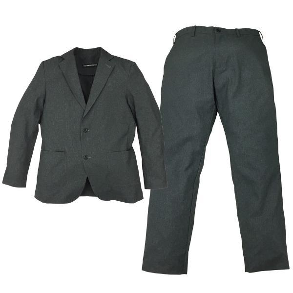 スーツ 上下セットアップ メンズ 吸水速乾 ストレッチ 家庭洗濯 BMC ビジネス オフィス ジャケット パンツ 空冷式スーツ ブラック/ネイビー/グレー M-LL bmc-tokyo 15