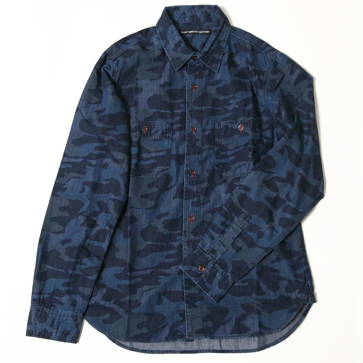 BMCカモ柄デニムシャツ