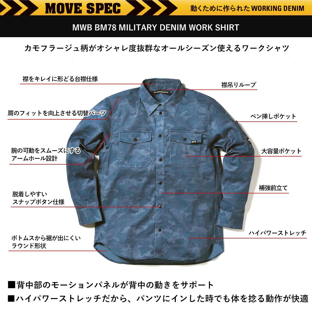 BMCワークシャツ