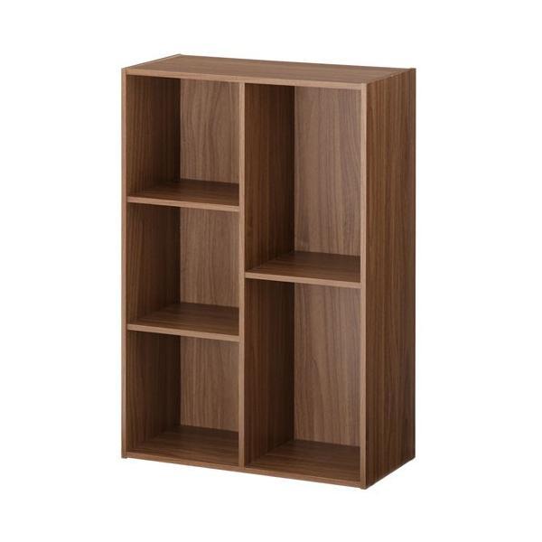オープンシェルフ 木製 白 ラック スリム 本棚 収納棚 カラーボックス シェルフ 3段 2段 おしゃれ A4 黒 コミック 二段 三段 収納ボックス 省スペース|bon-like|18