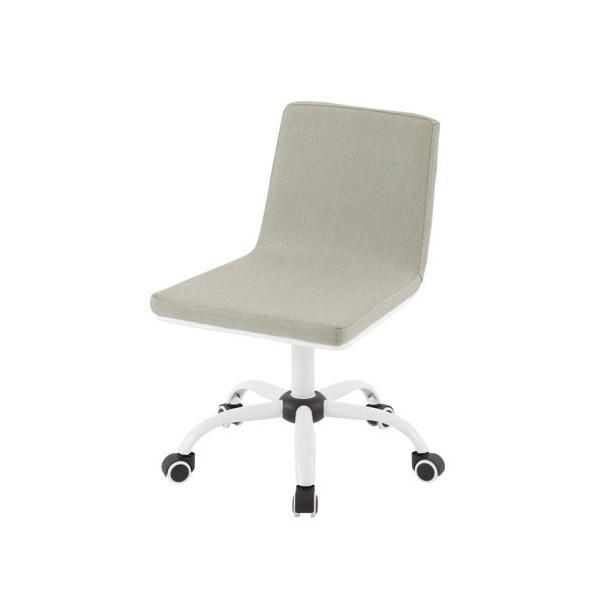 オフィスチェア おしゃれ パソコンチェア ミドルバック デザイン デスク用 PC OA 椅子 イス いす キャスター付き|bon-like|24
