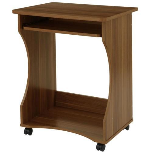 パソコンデスク オフィスデスク PCデスク パソコンラック シンプル 省スペース 木製 コンパクト サイドテーブル キャスター付き おしゃれ 収納 幅60|bon-like|23