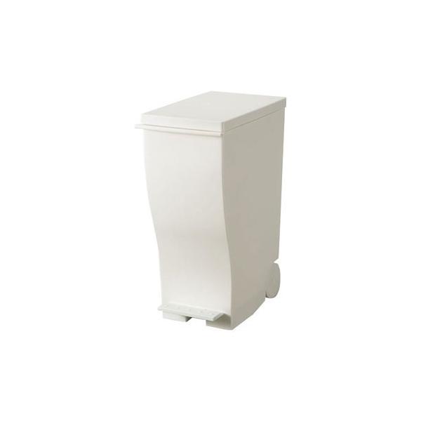 ゴミ箱 ごみ箱 ダストボックス キッチン 日用品 オフィス ブラック ホワイト おしゃれ リビング 蓋付き ペダルペール フットペダル 日本製|bon-like|08