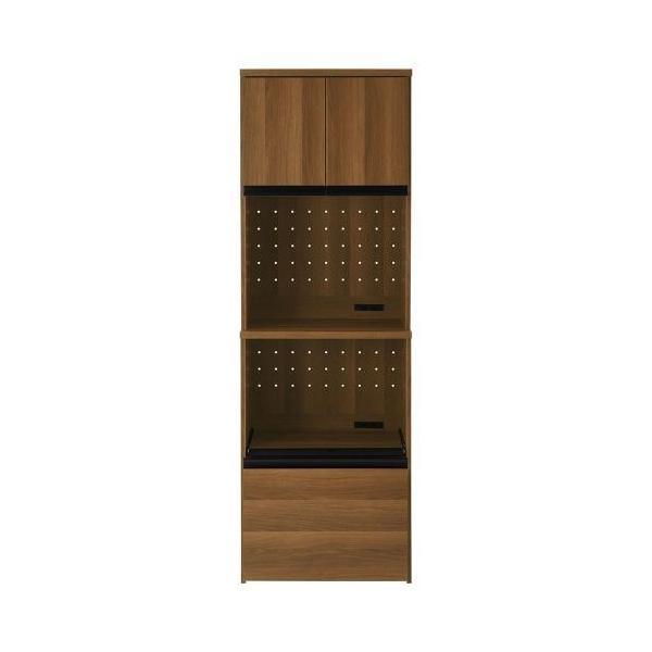 キッチンボード 食器棚 大型レンジ 収納 隠せる 引き出し キャスター 木製 パントリー キッチン キャビネット おしゃれ|bon-like|19