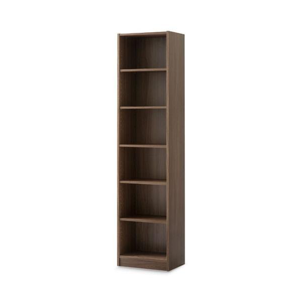 本棚 書棚 おしゃれ 大容量 収納 ラック 棚 木製 収納棚 幅44 A4 漫画 コミック CD 180cm 6段 省スペース ディスプレイ ブックシェルフ|bon-like|19