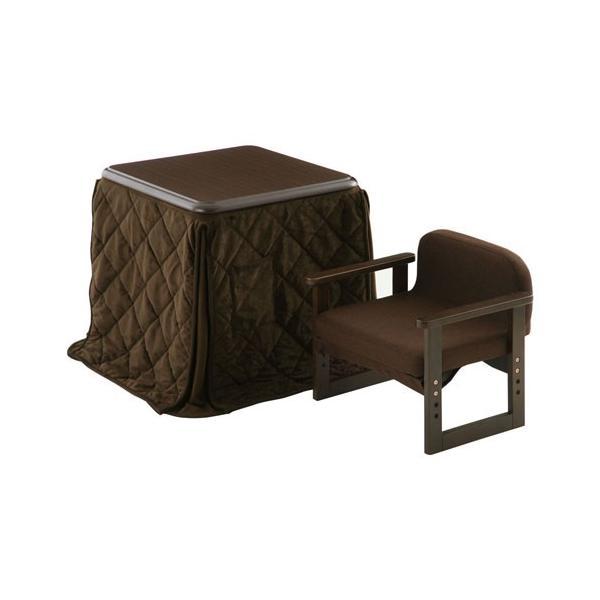 ダイニングこたつ テーブル チェア こたつ布団 セット 木製 椅子 いす 掛け布団 ハイテーブル デスク 手元スイッチ bon-like 21