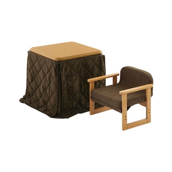 ダイニングこたつ テーブル チェア こたつ布団 セット 木製 椅子 いす 掛け布団 ハイテーブル デスク 手元スイッチ bon-like 20