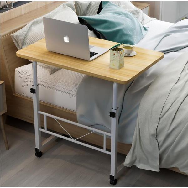 折りたたみテーブル サイドテーブル 軽い 安い 小さい 高さ調整 角度調節 パソコン ベッド デスク 昇降 ホワイト 作業台 介護用品 ミニ コンビニエンステーブル|bonito|13