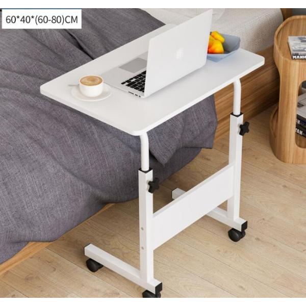 折りたたみテーブル サイドテーブル 軽い 安い 小さい 高さ調整 角度調節 パソコン ベッド デスク 昇降 ホワイト 作業台 介護用品 ミニ コンビニエンステーブル|bonito|12