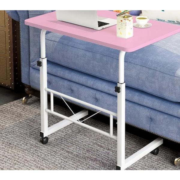 折りたたみテーブル サイドテーブル 軽い 安い 小さい 高さ調整 角度調節 パソコン ベッド デスク 昇降 ホワイト 作業台 介護用品 ミニ コンビニエンステーブル|bonito|14