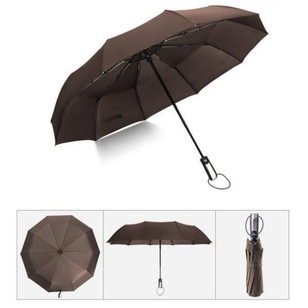 クーポン対象 好評 自動開閉 折りたたみ傘  10本骨 折り畳み傘 日傘 完全遮光 軽量 メンズ レディース 大きい 超軽量 ワンタッチ 丈|bonito|17