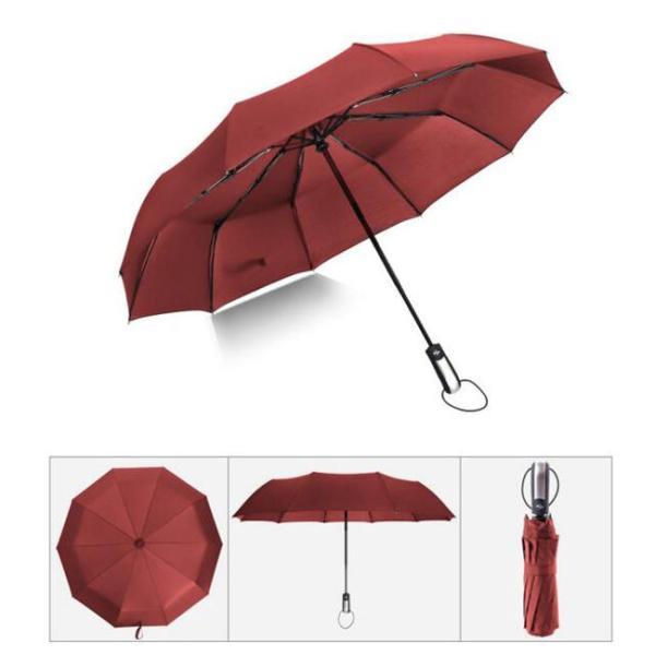 クーポン対象 好評 自動開閉 折りたたみ傘  10本骨 折り畳み傘 日傘 完全遮光 軽量 メンズ レディース 大きい 超軽量 ワンタッチ 丈|bonito|18