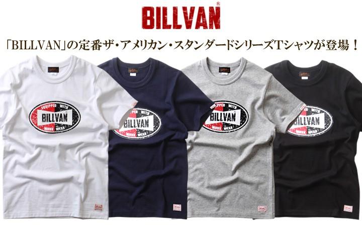 Tシャツ BILLVANアメリカンスタンダード チャンピオンシップ  プリントTシャツ 28136 メンズ アメカジ