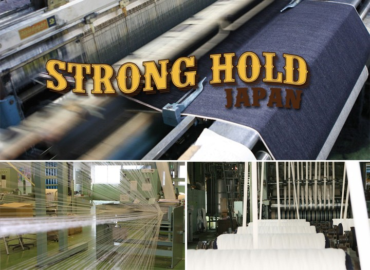 STRONG HOLD/日本製700XX/セルヴィッジ/スリムフィット・デニム/made in japan