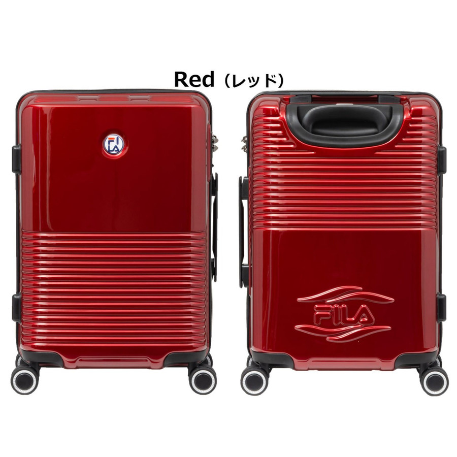 スーツケース キャリーケース キャリーバッグ FILA フィラ ballonシリーズ ファスナータイプハードキャリーケース 19インチ Max Cabin Size (全4色 260-1060) borsa-uomo 16