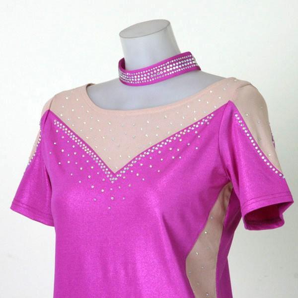 ダンスウェアダンスシャツ