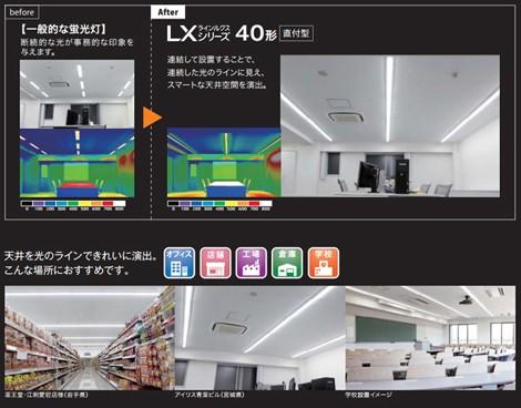 天井がスッキリ見えるスマートなデザインの次世代型ベース照明