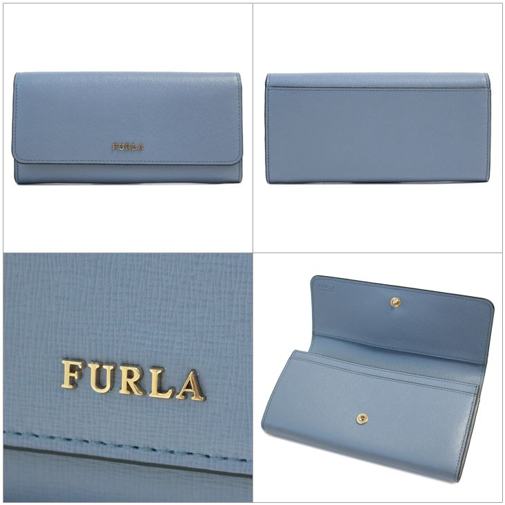 0bb196a0bad0 イタリアの古き良き街・ボローニャ発のブランド、フルラの長財布【BABYLON(バビロン)】です。 フロントの光るロゴが素敵!シンプルなデザインですが 上品な型押しレザー ...