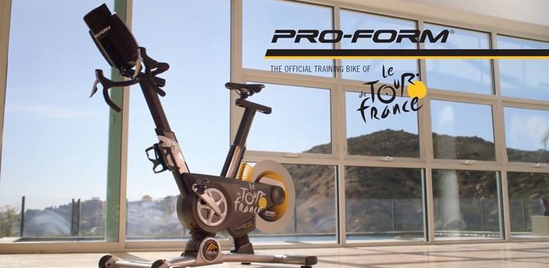 PRO-FORMツール・ド・フランス オフィシャル トレーニングバイク TDF Pro 5.0