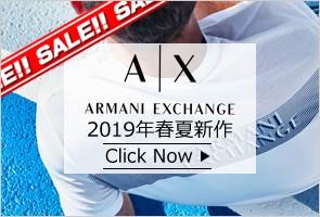 A X ARMANI EXCHANGE  2019年 SS 春夏 新作