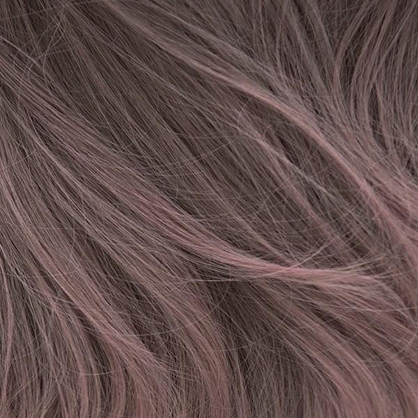 ウィッグ フルウィッグ ロング 自然 セミロング ウイッグ グラデーション ハイライト メッシュ カール ピンク かつら レディース 金髪 ハロウィン 黒髪|brightlele|28