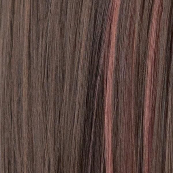 ウィッグ フルウィッグ ロング 自然 セミロング ウイッグ グラデーション ハイライト メッシュ カール ピンク かつら レディース 金髪 ハロウィン 黒髪|brightlele|33