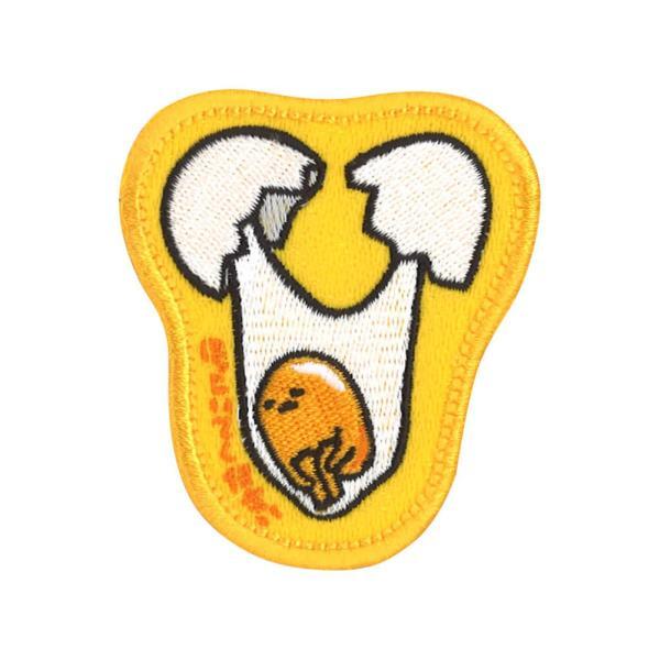 ワッペン ぐでたま サンリオ アイロン シール 2way 刺繍 キャラクター マーク プレゼント 服|broderie01|11