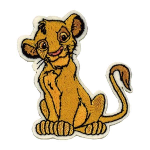 ワッペン ライオンキング 小 ディズニー アイロン シール かわいい 刺繍 キャラクター グッズ プレゼント 服|broderie01|12