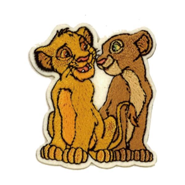 ワッペン ライオンキング 小 ディズニー アイロン シール かわいい 刺繍 キャラクター グッズ プレゼント 服|broderie01|15