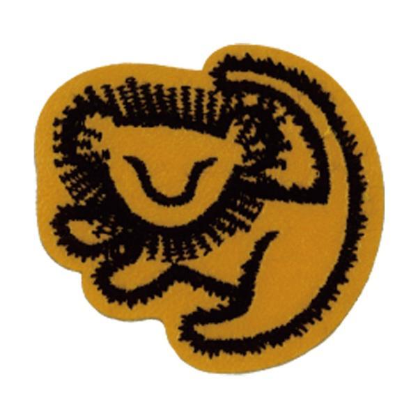 ワッペン ライオンキング 小 ディズニー アイロン シール かわいい 刺繍 キャラクター グッズ プレゼント 服|broderie01|17