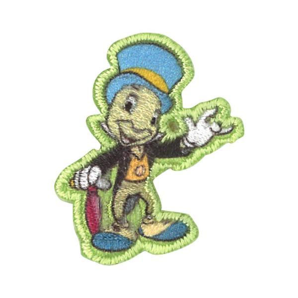ワッペン ミニワッペン スティッチ バンビ ディズニー アイロン シール かわいい 刺繍 キャラクター グッズ プレゼント 服|broderie01|22