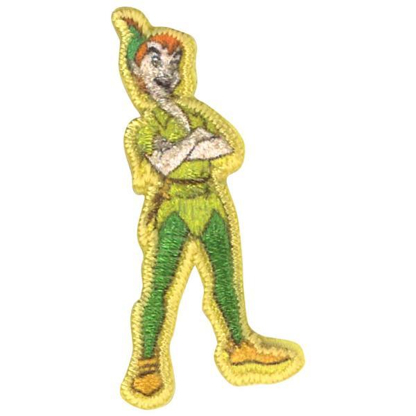 ワッペン ミニワッペン スティッチ バンビ ディズニー アイロン シール かわいい 刺繍 キャラクター グッズ プレゼント 服|broderie01|33