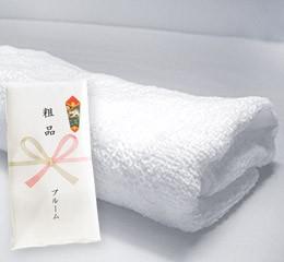 中国製 粗品タオル 200匁 白