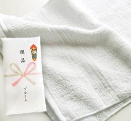 日本製 粗品タオル 240匁 白