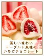 ヨーグルトいちごチョコレート