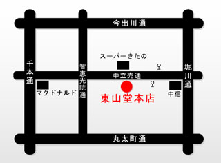 東山堂地図