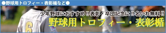 トロフィー/楯/野球/ベースボール/少年野球/優勝/表彰/卒団/記念