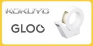 GLOO グルーテープカッター(吸盤ハンディタイプ・大巻き)白 T-GM500W 通販 通信販売 販売