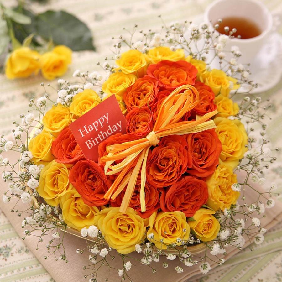 【フラワーケーキ 誕生日プレゼント ギフト 女性 花】アニバーサリーギフト|bunbunbee|14