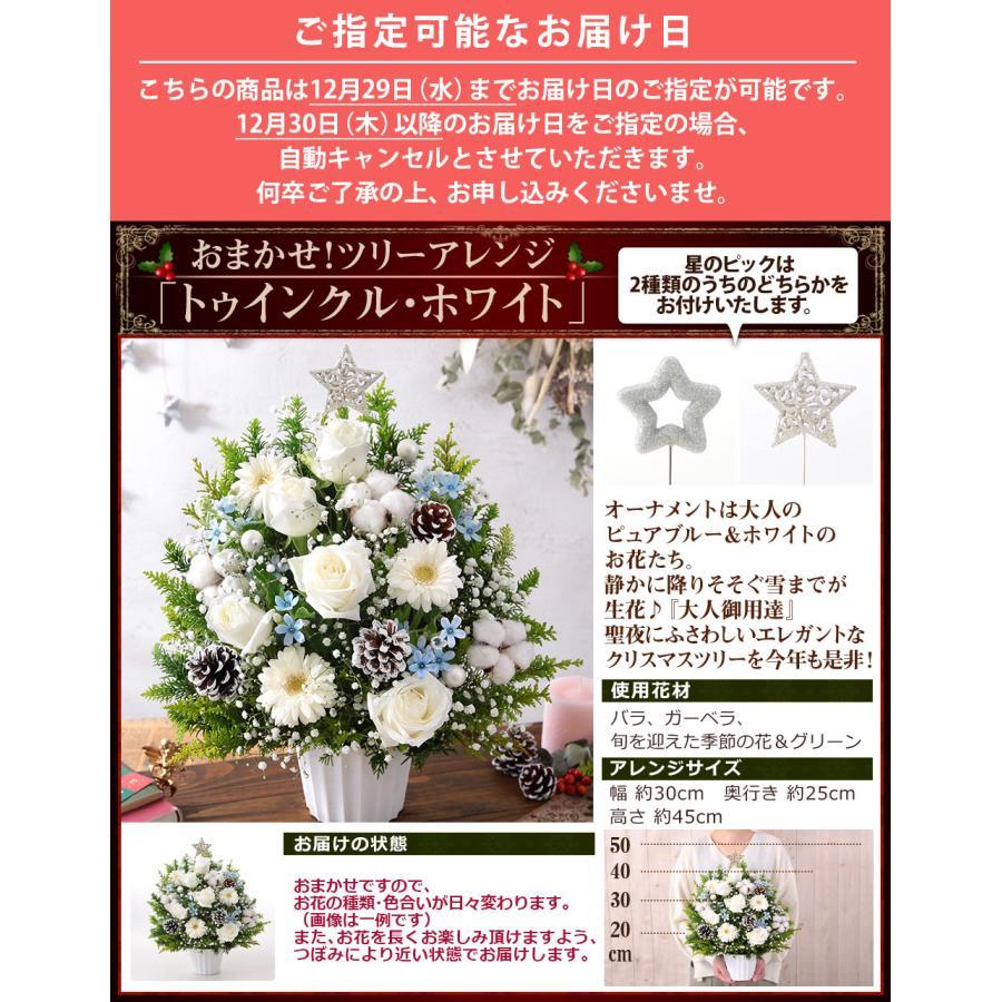 【誕生日プレゼント ギフト 女性 花 バラ ユリ】おまかせアレンジメント Mサイズ|bunbunbee|20