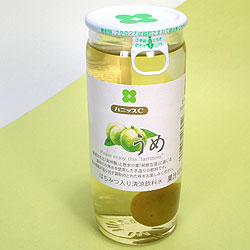 梅の実コロン!さわやかな風味のハニップC。