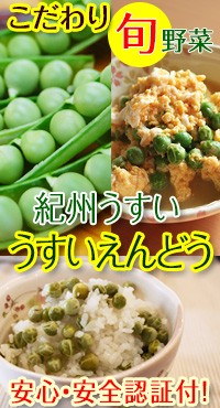 和歌山のこだわり野菜!紀州うすいで美味しい豆ごはんを食べよう!