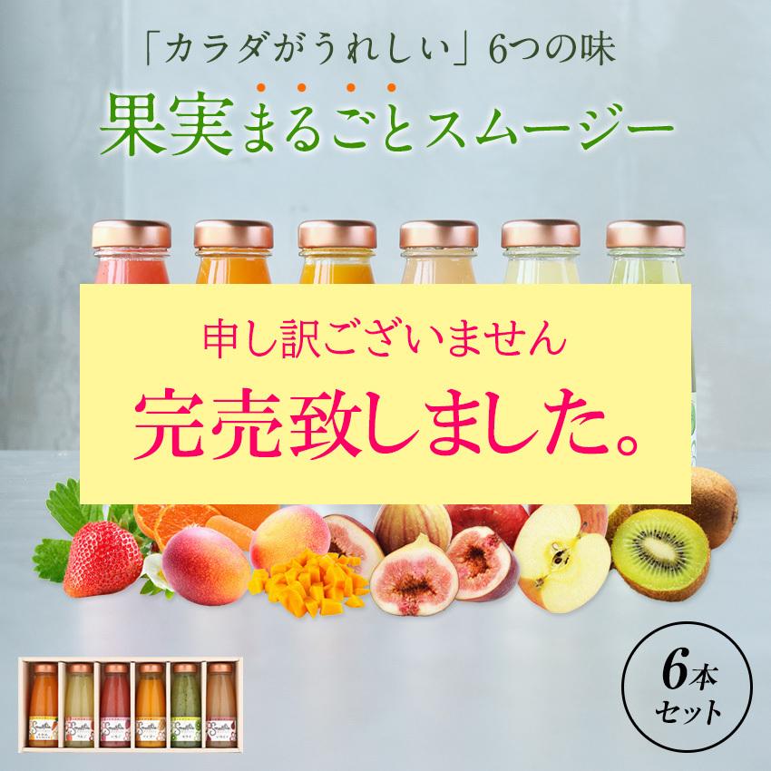 フルーツスムージー6本