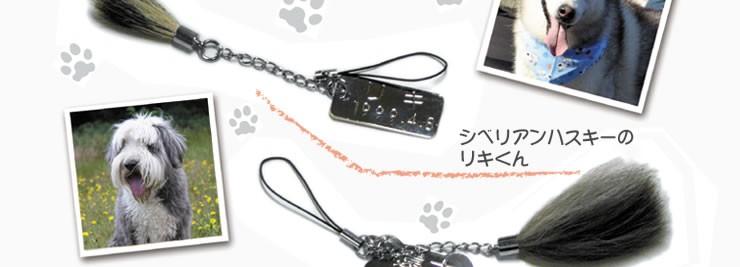 【名入れ】ペット筆チャーム・ネームタグ付き【熊野製】