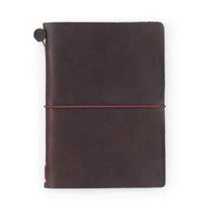 手帳 2020 名入れ 無料 トラベラーズノート パスポートサイズ 週間ダイアリー + 無地ノート セット|bunguya|20