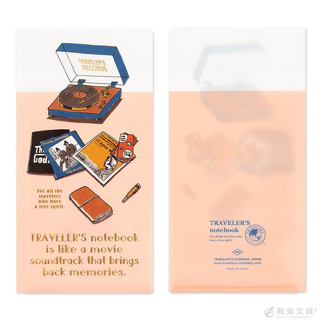 【2020年 限定品】トラベラーズノート TRAVELER'S Notebook クリアホルダー
