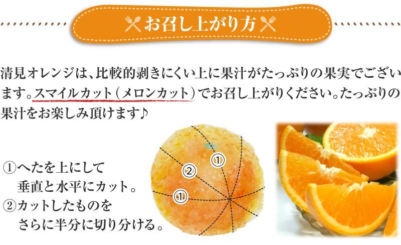 清見オレンジお召し上がり方