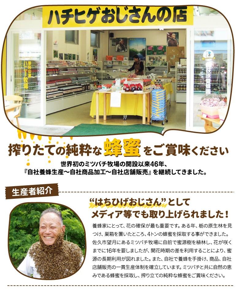ハチひげおじさんの店 生産者紹介1