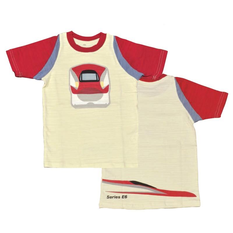キッズ 子供用 シャツ 新幹線 E6系スーパーこまち Tシャツ