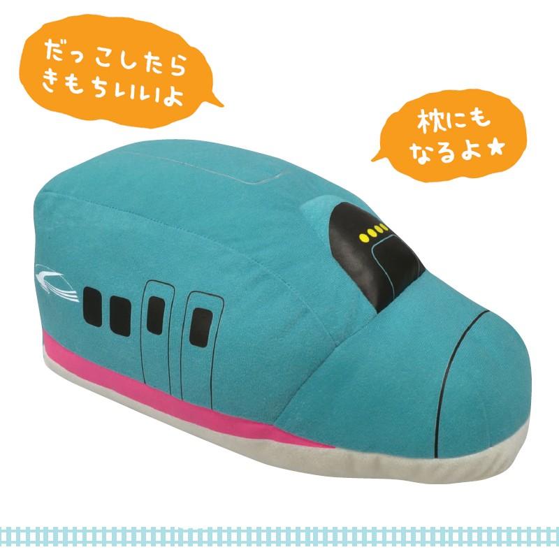 ぬいぐるみ E5系はやぶさ新幹線 枕にもなる